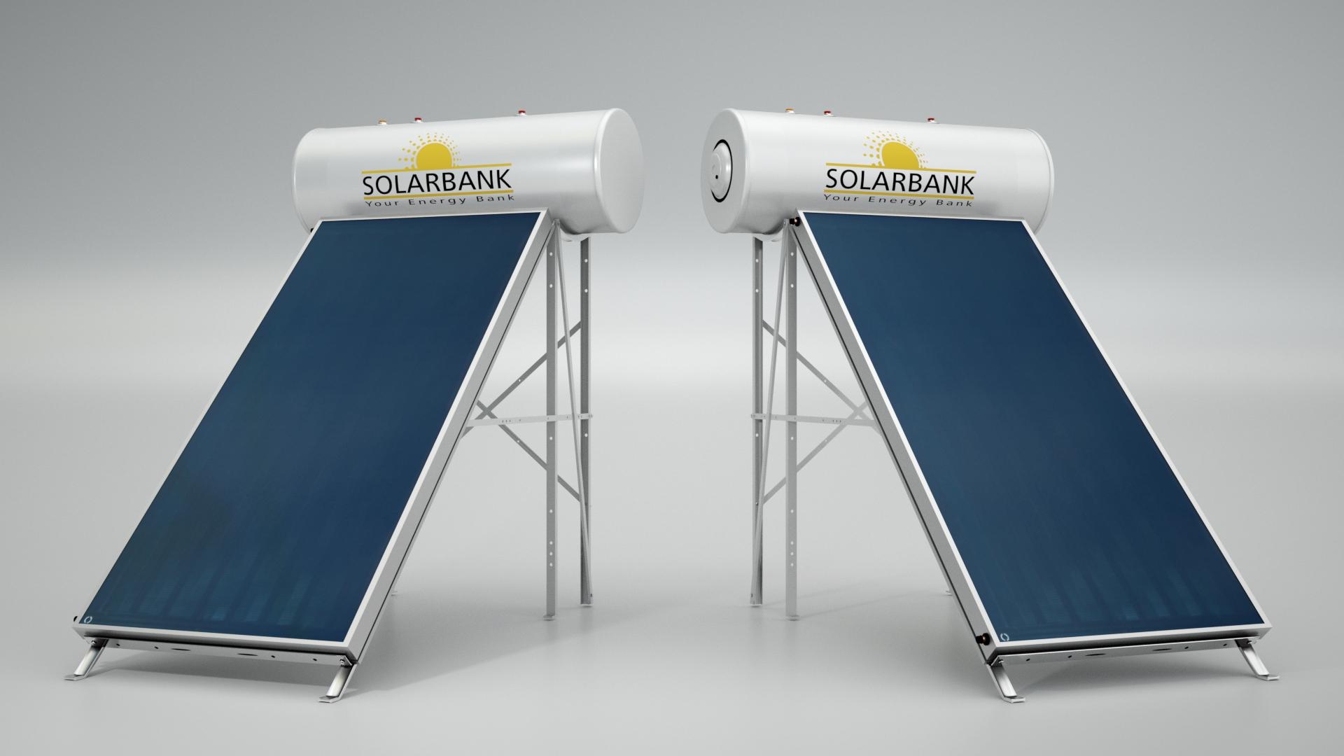 Ηλιακός Θερμοσίφωνα SolarBank